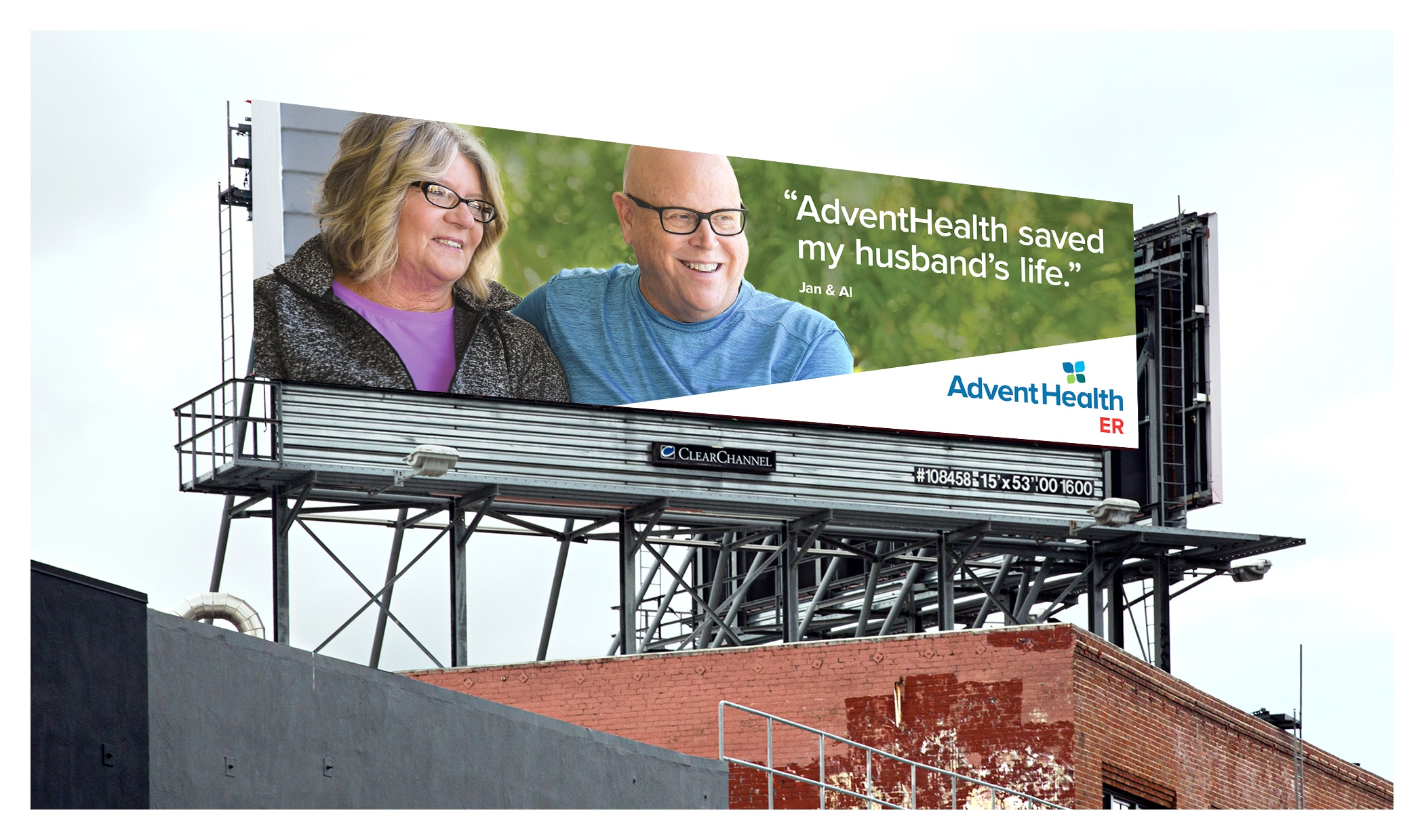 Photo of outdoor board for Advent Health InQuick ER