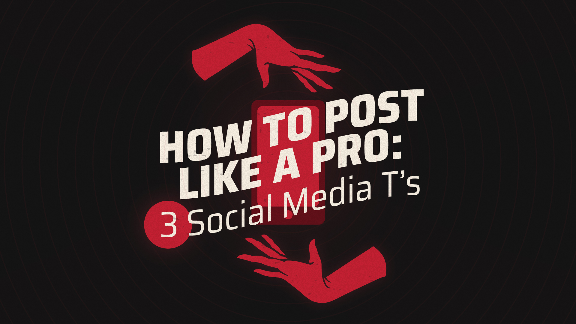 How to Post Like a Social Media Pro