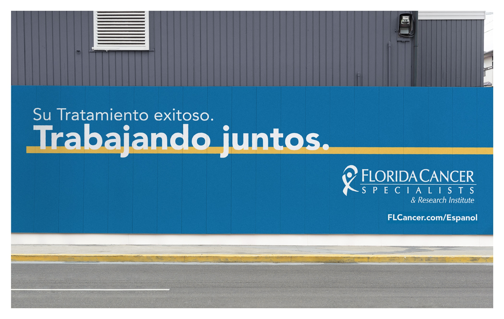 Photo of Every Step of the Way billboard for Florida Cancer Specialists