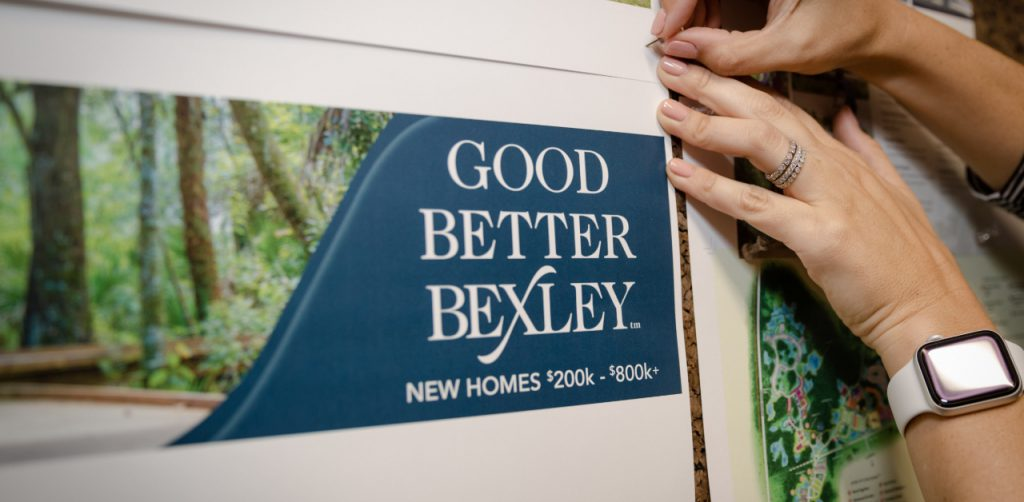 Sample of Bexley's advertising campaign in Pasco County, FL