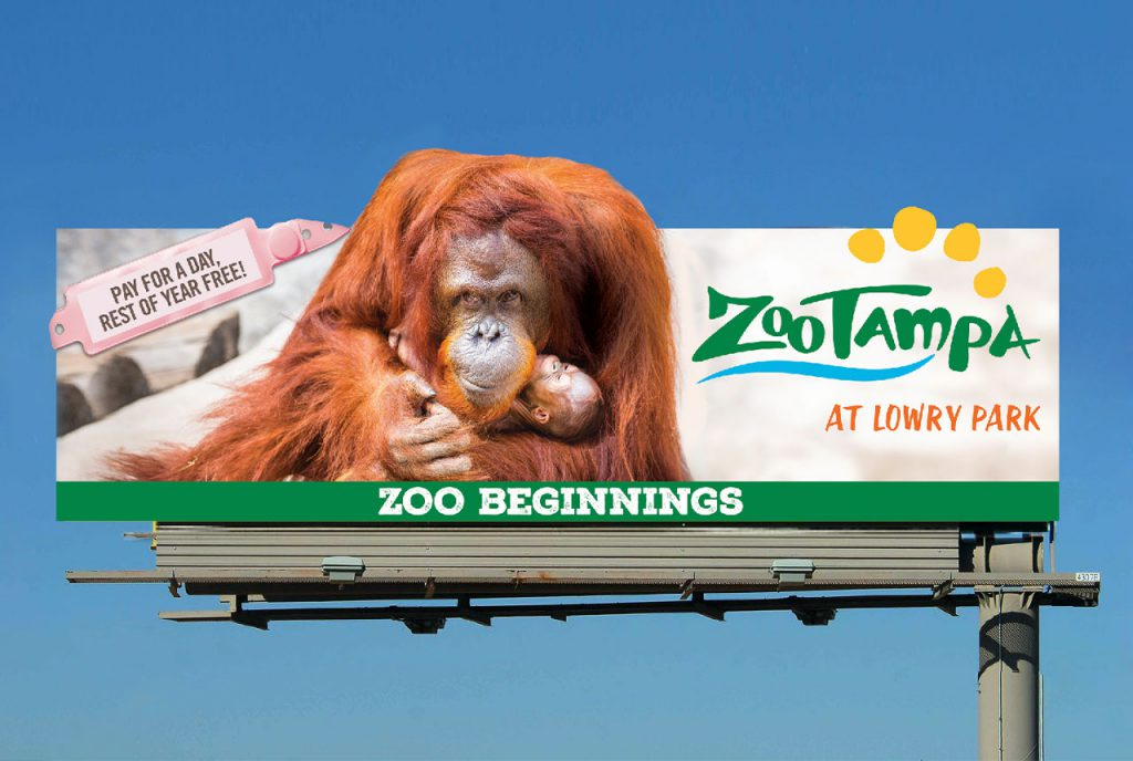 ZooTampa Billboard Creative