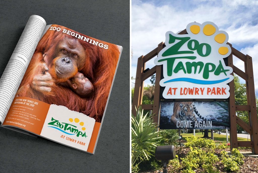 ZooTampa Rebrand