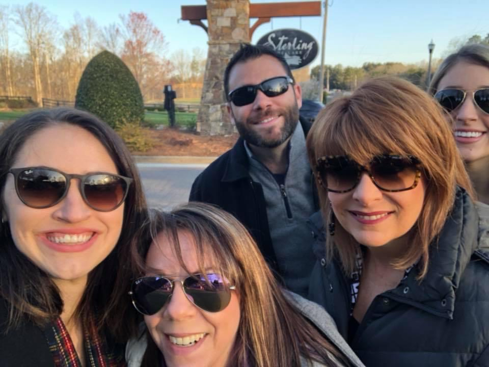 ChappellRoberts team members visit Sterling on the Lake by Newland