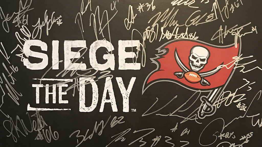 Signed Siege the Day poster