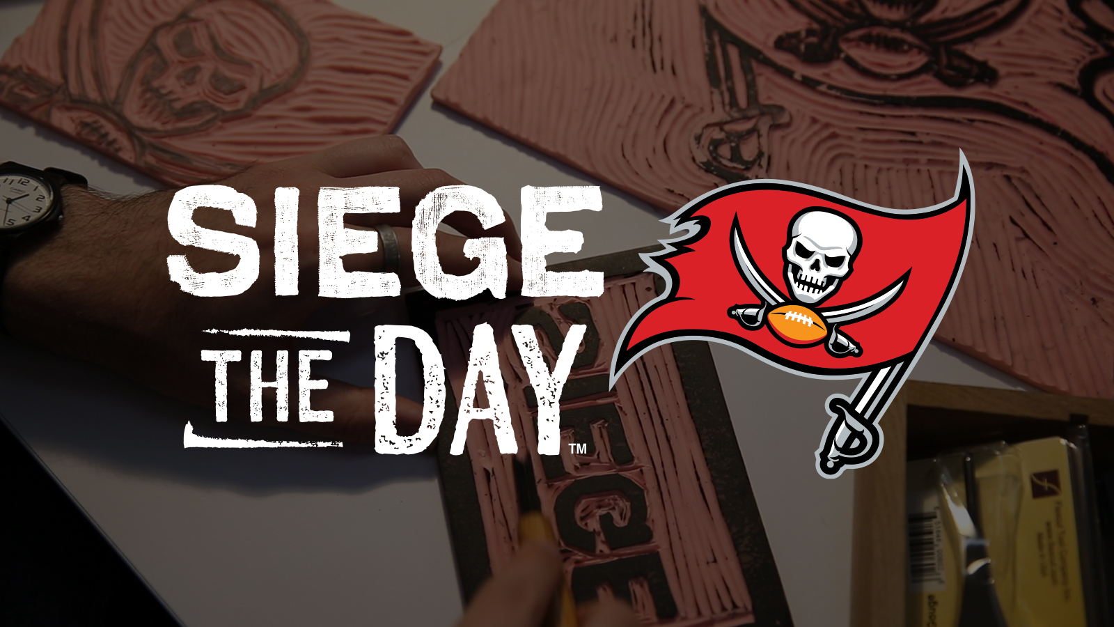 Tampa Bay Buccaneers - Siege the Day