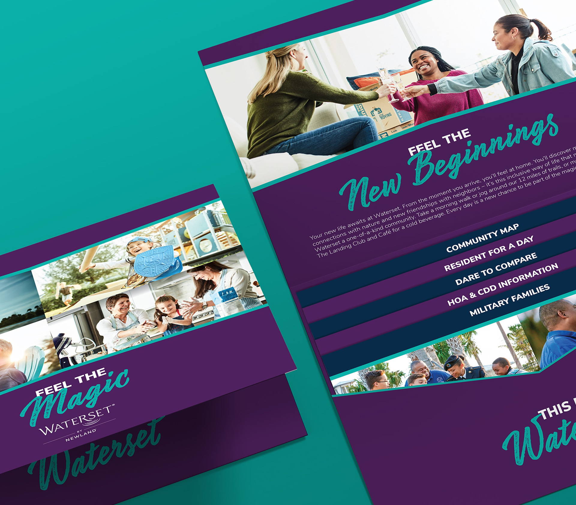 Marketing materials for Waterset by Newland